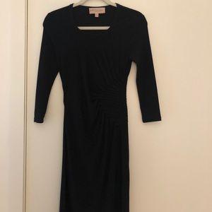 Black Philosophy cinched waist dress
